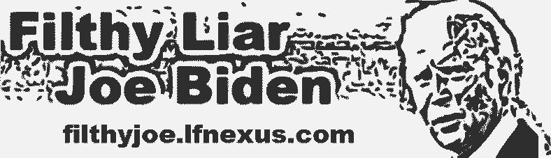 Filthy Liar Joe Biden